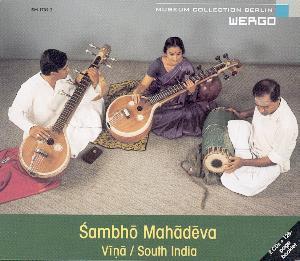 Wergo CD Sambho Mahadeva Vina/South India